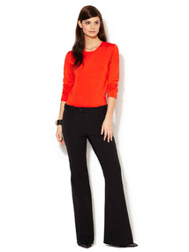Tech Stretch Knit Flare Pant