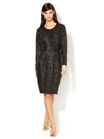 Dew Drop Jersey Knit Dress