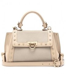 Salvatore Ferragamo MINI SOFIA STUDDED SHOULDER BAG