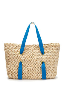 Chunky Straw Tote