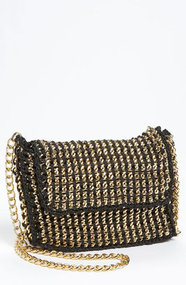 Sondra Roberts Chain Crossbody Bag