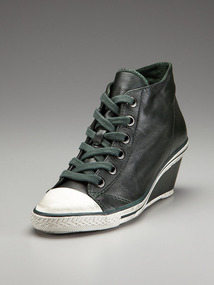 Gun Lace-Up Wedge