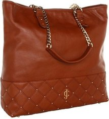 Juicy Couture - Anja Tote (Cognac Leather) - Bags and Luggage