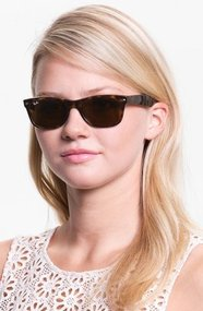 Ray-Ban &#x27;New Small Wayfarer&#x27; 52mm Sunglasses