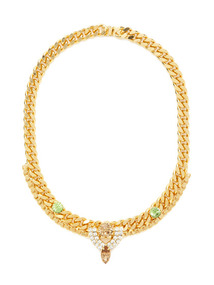 Cole Gold & Crystal Necklace