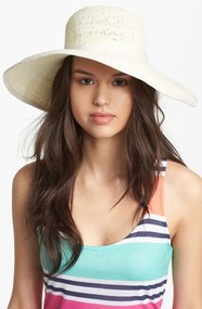 Wire Brim Sun Hat
