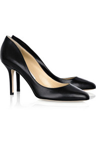 JIMMY CHOO Gilbert leather pumps