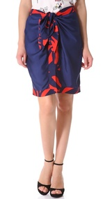 Piamita Beatrice Tie Waist Skirt