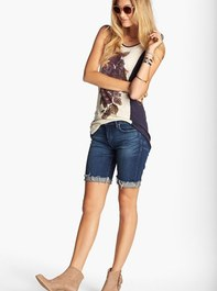 BLANKNYC Roll Up Jean Shorts | Nordstrom
