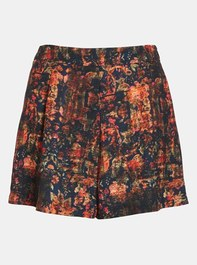 ASTR High Waisted Print Shorts