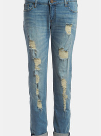 edyson Soho Relaxed Boyfriend Jeans 