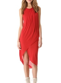 Elizabeth and James Willow Asymmetrical Dress