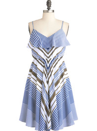 Sailboat Showcase Dress