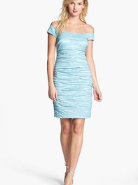 Alex Evenings Stretch Taffeta Cocktail Dress