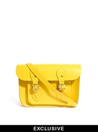 Cambridge Satchel Company | Cambridge Satchel Company Exclusive To ASOS Canary Yellow 11 Satchel at ASOS