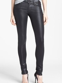 Citizens of Humanity 'Racer' Low Rise Coated Jeans (Black Coated) | Nordstrom