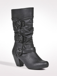 Shoes | Triple Buckle Boots | dressbarn