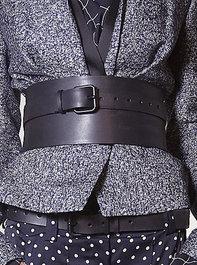 Haider Ackermann Wide Leather Belt