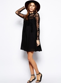 India Gauze Write About Love Dress at ASOS
