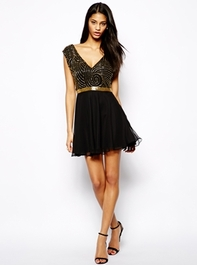 Nini Mini Embellished Dress