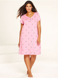 Charter Club Plus Size Sleepshirt - Shop All Pajamas & Robes - Women - Macys