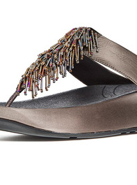 Fitflop CHA CHA Womens Pewter Slippers 2014