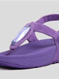FitFlop Chada Diamond Purple Sandals For Women