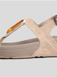 Fitflop Chada Yellow Diamond Pebble Womens Sandals