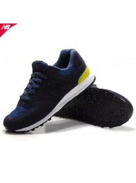 New Balance 574 Sonic Men Running Shoes Navy Yellow
