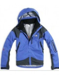Blue Mens North Face Triclimate Jacket