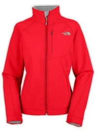 North Face Apex Bionic Womens Outdoor Jacket Red
