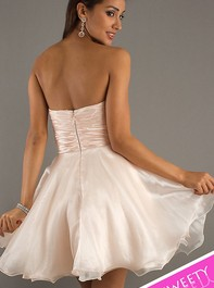 Short Strapless Blush Party Sweet Sixteen Dress 797442Outlet